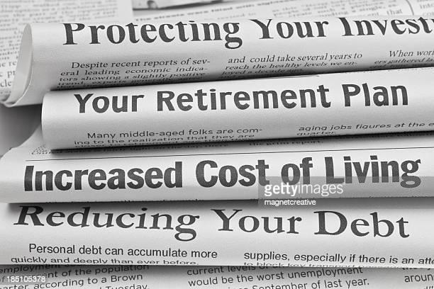 Titres des problèmes de finances personnelles
