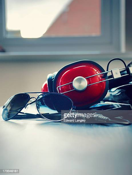 Headphones And Sunglasses
