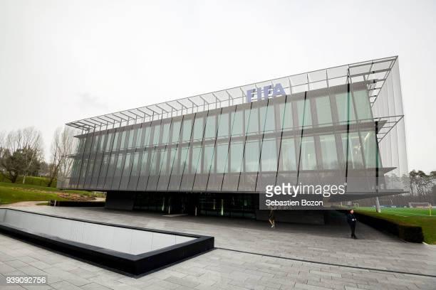 FIFA headquarter prior the International friendly match between Egypt and Greece on March 27 2018 in Zurich Switzerland