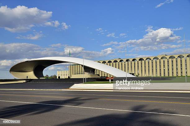 Headquarters Army, design of the building by Oscar Niemeyer, Brasilia, Brazil.