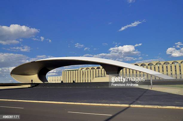 CONTENT] Headquarters Army of the architectural design of Oscar Niemeyer Brasilia Brazil