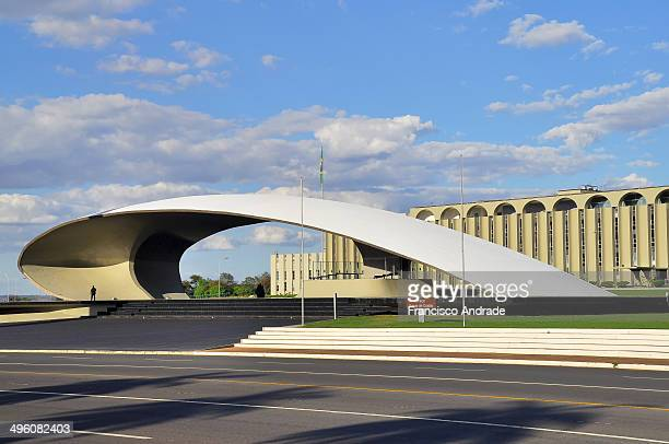 CONTENT] Headquarters Army of the architectural design of the building by Oscar Niemeyer Brasilia Brazil
