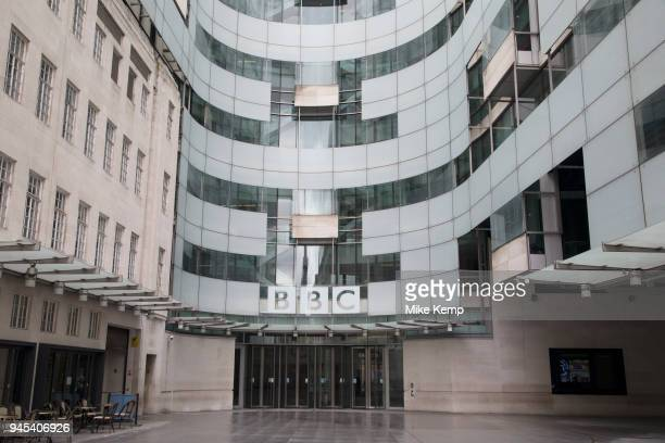 Headquarters, BBC Broadcasting House, Portland Place, London, England, United Kingdom. The main building was refurbished, withradio stations BBC...
