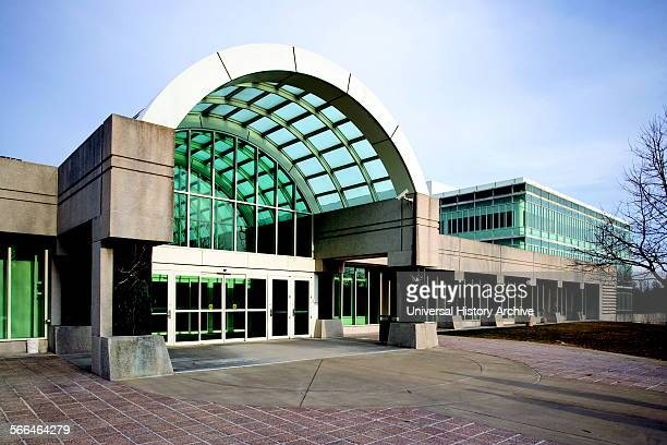 CIA Headquarters Building of the George Bush Center for Intelligence Langley Virginia USA