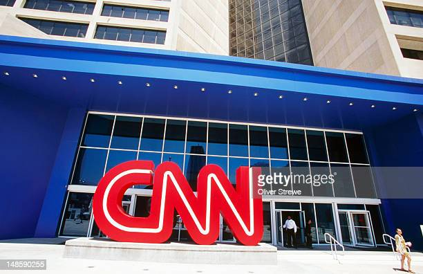 CNN headquarters building.
