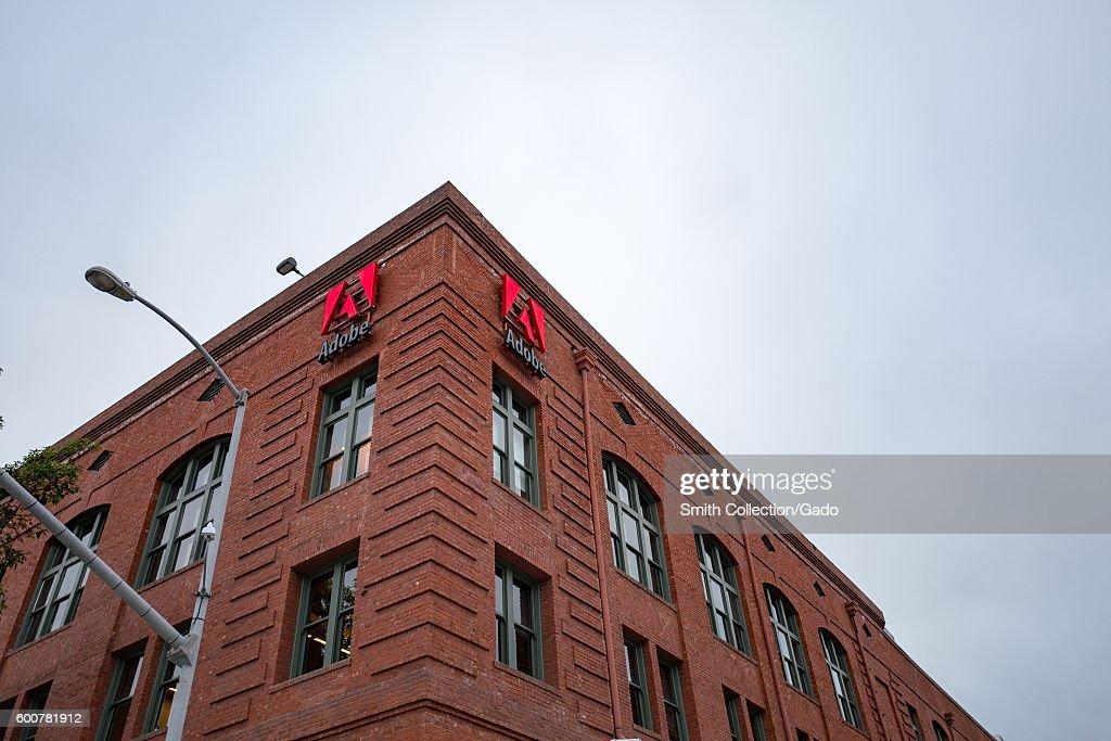 Adobe San Francisco : News Photo