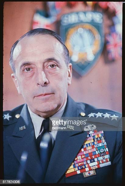 NATO Headquarters General Lyman Lemnitzer Supreme Commander of NATO forces in Europe