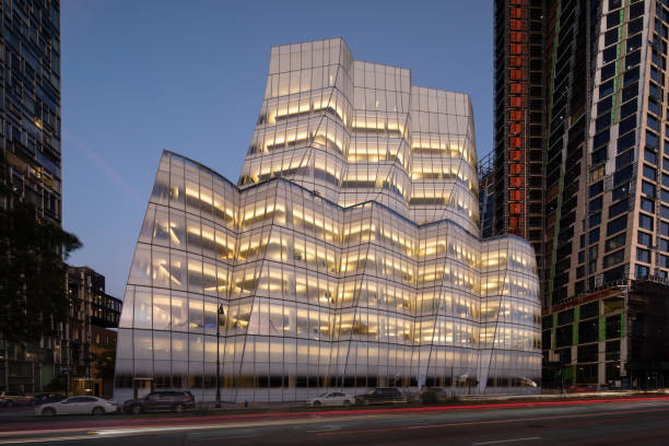 IAC headquarters in New York. The building, designed by architect Frank Gehry, is Gehry's first New York office tower. IAC is an interactive conglomerate that operates more than 60 brands including, Ask.com, LendingTree, Match.com and ticketmaster.