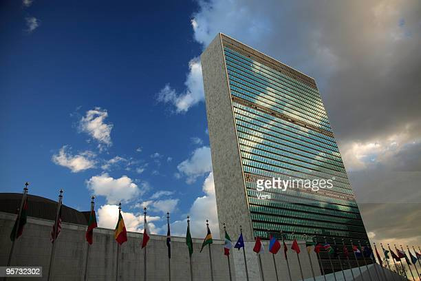 un headquarters, nyc - united nations building stock pictures, royalty-free photos & images