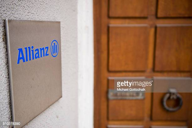 Headquarters of Allianz insurance company on February 15 2016 in Munich Germany