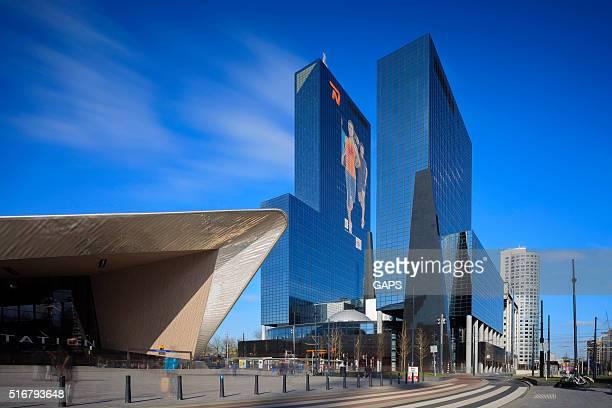 headquarters of nationale-nederlanden insurance company at weena - sponsra bildbanksfoton och bilder