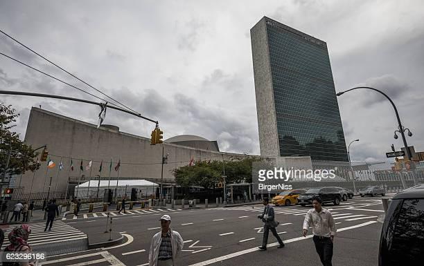 Headquarters of the United Nations, Manhattan, New York City, USA