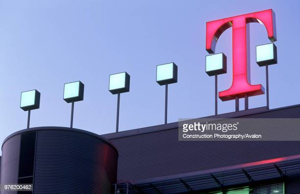 Headquarters of T-MOBILE in Bonn, Germany.