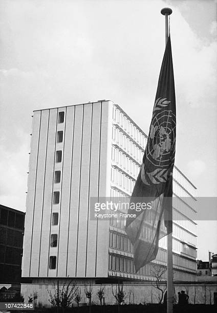 Headquarters Of Unesco In Paris On March 13Rd 1970