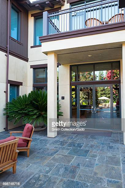 Headquarters of venture capital investment firm Andreessen Horowitz on Sand Hill Road in the Silicon Valley town of Menlo Park California August 25...