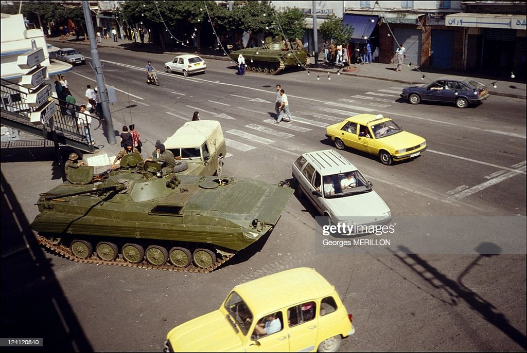 Headquarters State In Algiers, Algeria On October 09, 1988. : News Photo