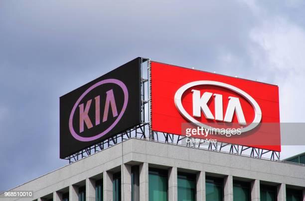 Headquartes of Kia Motors South Korean car manufacturer on March 2018 Alcobendas Madrid Spain
