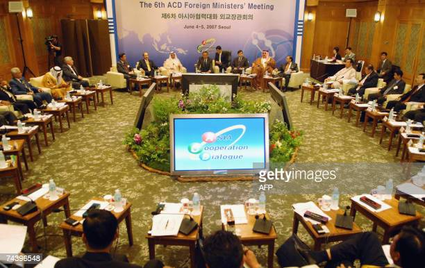 First Asia Cooperation Dialogue Ministerial Meeting on