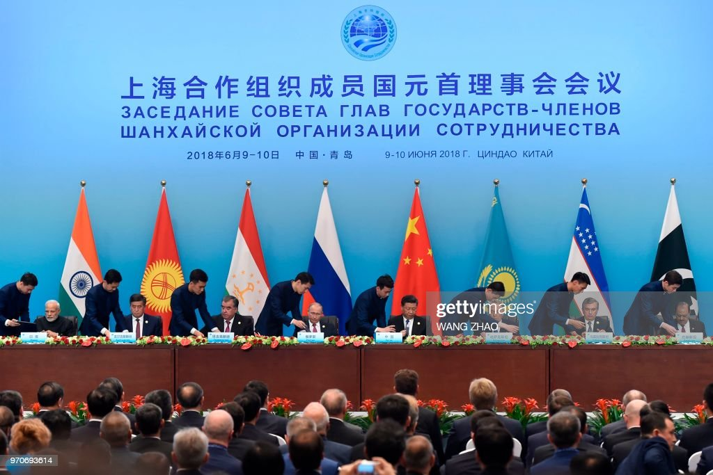 Heads Of States Members Of The Shanghai Cooperation Organisation