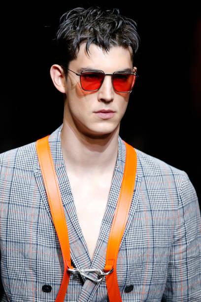 ITA: Emporio Armani - Runway - Milan Men's Fashion Week Spring/Summer 2020
