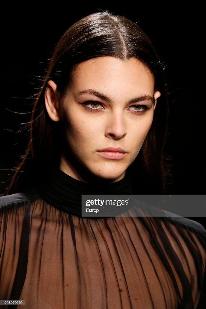 Alberta Ferretti - Details - Milan Fashion Week Fall/Winter 2018/19 : Nachrichtenfoto