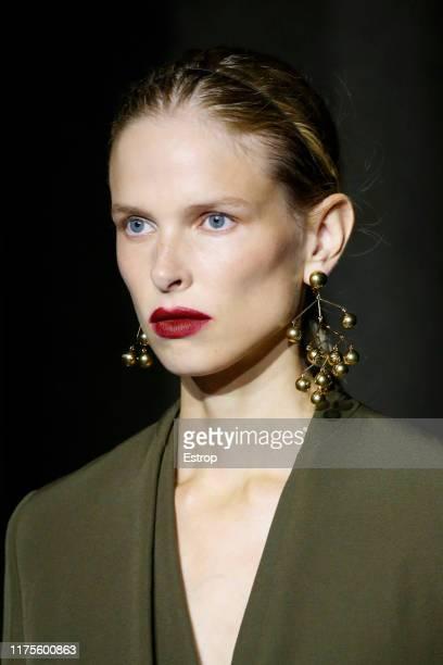 Headshot at the Jil Sander show during the Milan Fashion Week Spring/Summer 2020 on September 18, 2019 in Milan, Italy.