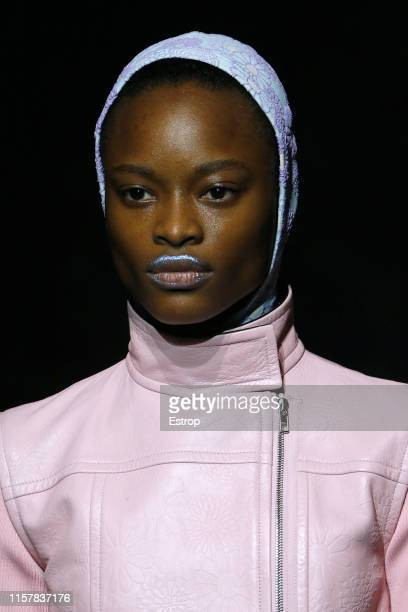 Headshot at the Kenzo show during Paris Men's Fashion Week Spring/Summer 2020 on June 23 2019 in Paris France