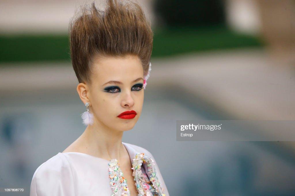 Chanel : Details - Paris Fashion Week - Haute Couture Spring Summer 2019 : ニュース写真