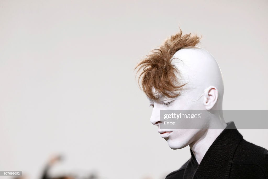 Rick Owens : Details - Paris Fashion Week - Menswear F/W 2018-2019 : ニュース写真