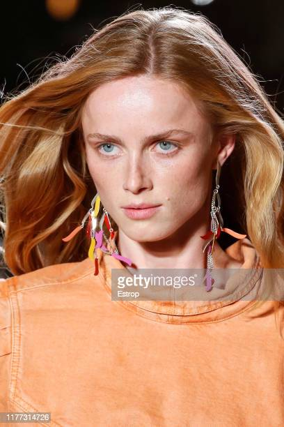 Headshot during the Isabel Marant Womenswear Spring/Summer 2020 show as part of Paris Fashion Week on September 26 2019 in Paris France
