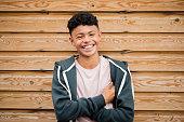 Headshot of a Teenage Boy