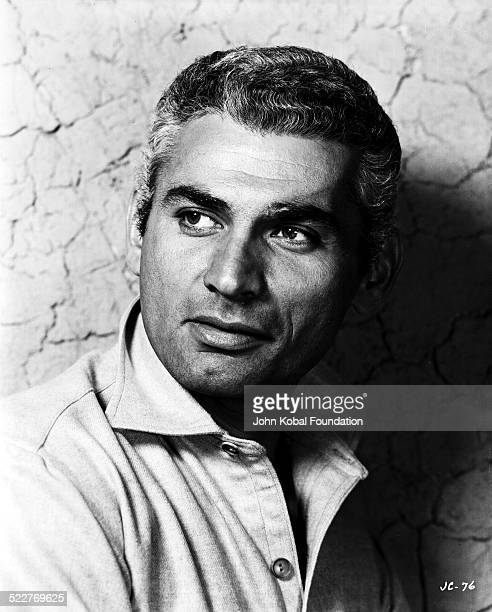 Headshot of actor Jeff Chandler , with Universal Studios, 1957.