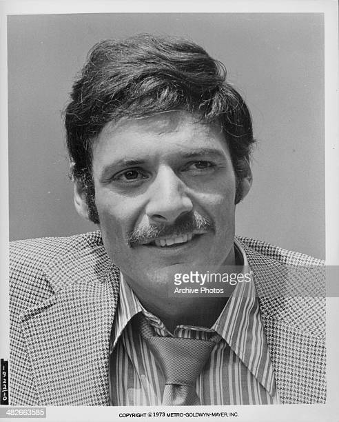 Headshot of actor Ron Leibman as he appears in the movie 'The Super Cops' 1974
