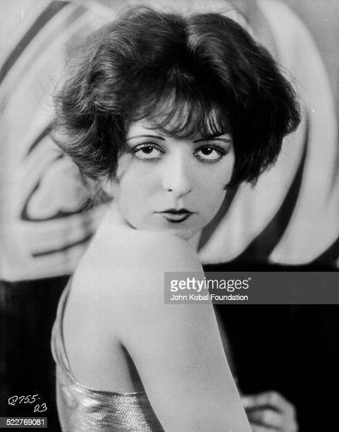Headshot of actress Clara Bow for Paramount Pictures 1926