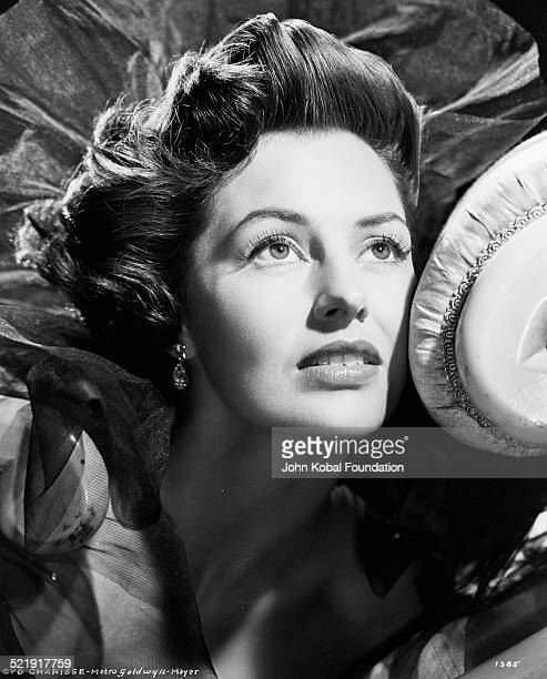 Headshot of actress Cyd Charisse for MGM Studios August 14th 1952