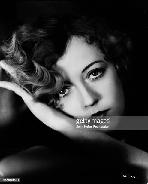 Headshot of actress Marion Davies for MGM Studios 1930