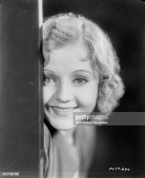 Headshot of actress Nancy Carroll for Paramount Pictures 1928
