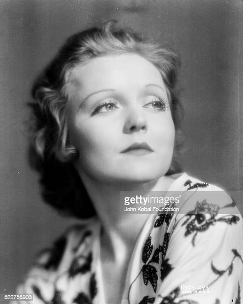 Headshot of actress Nancy Carroll for Paramount Studios 1931