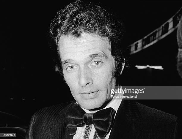Headshot of American country singer and songwriter Merle Haggard attending the Academy of Country and Western Music Awards at the Hollywood Palladium...