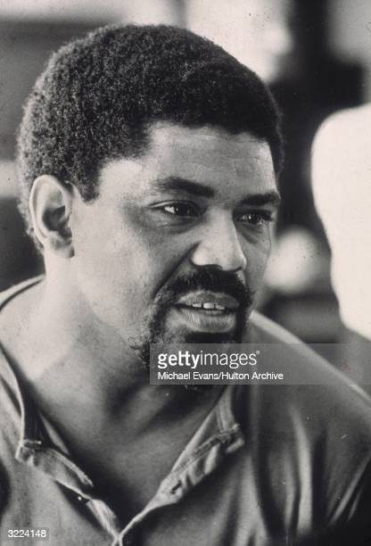 Headshot of American dancer and choreographer Alvin Ailey founder of the Alvin Ailey American Dance Theater