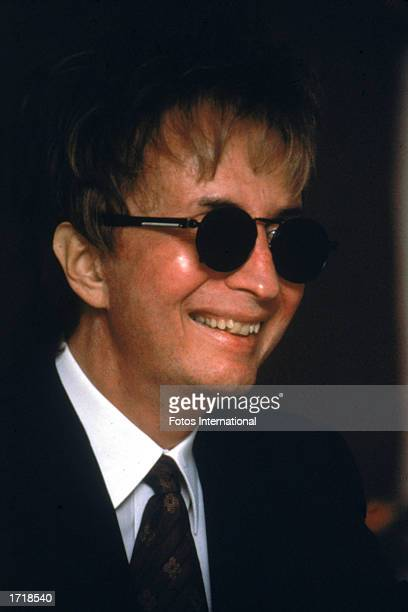 Headshot of American director Michael Cimino attending an event 1996