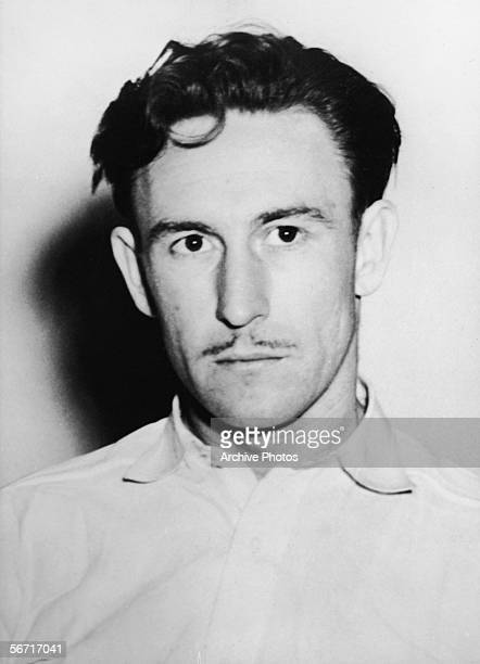 Headshot of American Donald Roberts a confessor to the murder of aspiring American actress and murder victim Elizabeth Short known as the 'Black...