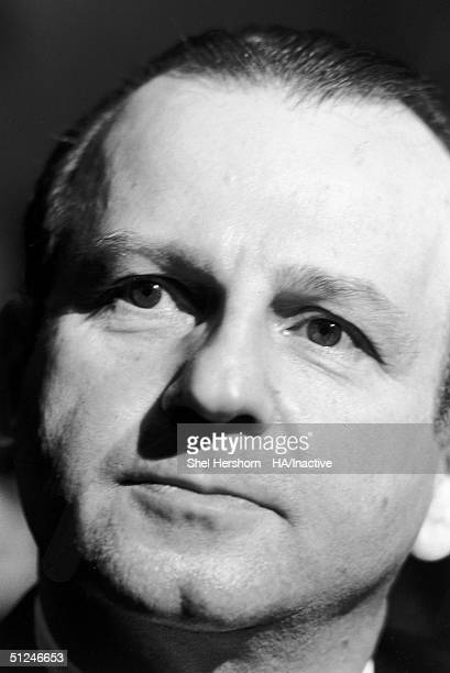 1964 Headshot of American murderer Jack Ruby during his trial Dallas Texas In 1963 Ruby shot and killed Lee Harvey Oswald the alleged assassin of...
