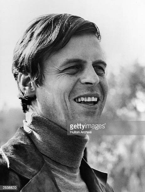 Headshot of American writer and founder of 'The Paris Review,' George Plimpton , circa 1966.