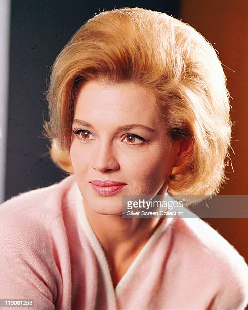 Headshot of Angie Dickinson US actress circa 1965