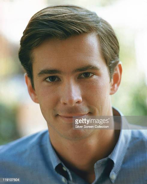 Headshot of Anthony Perkins US actor circa 1970