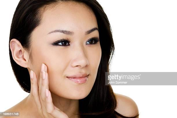 Photo de Belle femme asiatique