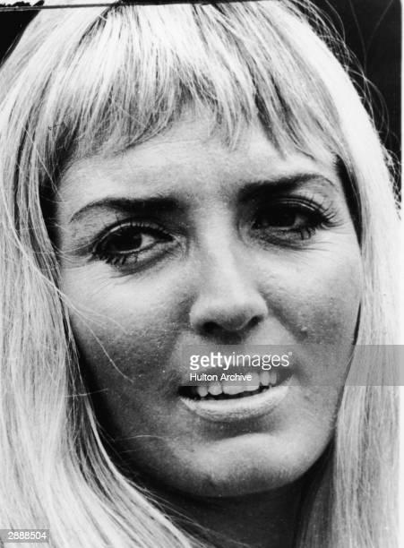 Headshot of British writer Xaviera Hollander author of 'The Happy Hooker' circa 1969