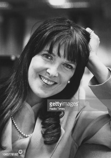 Headshot of broadcaster Cathy McGowan circa 1985
