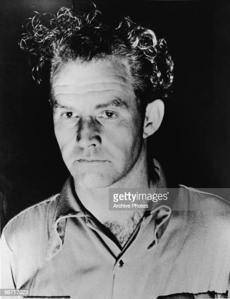 Headshot of Daniel S Voorhees a confessor to the murder of aspiring American actress and murder victim Elizabeth Short known as the 'Black Dahlia'...